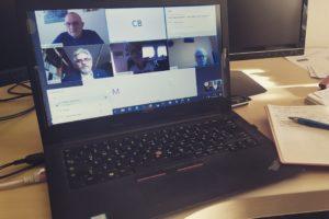 Online Arbeit im Vorstand